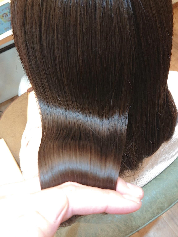 【髪質改善】酸熱トリートメント